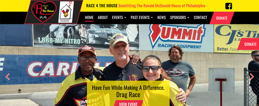 Race 4 The House Website