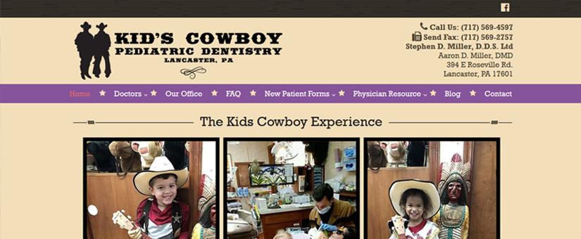 Pediatric Dentist Website Design