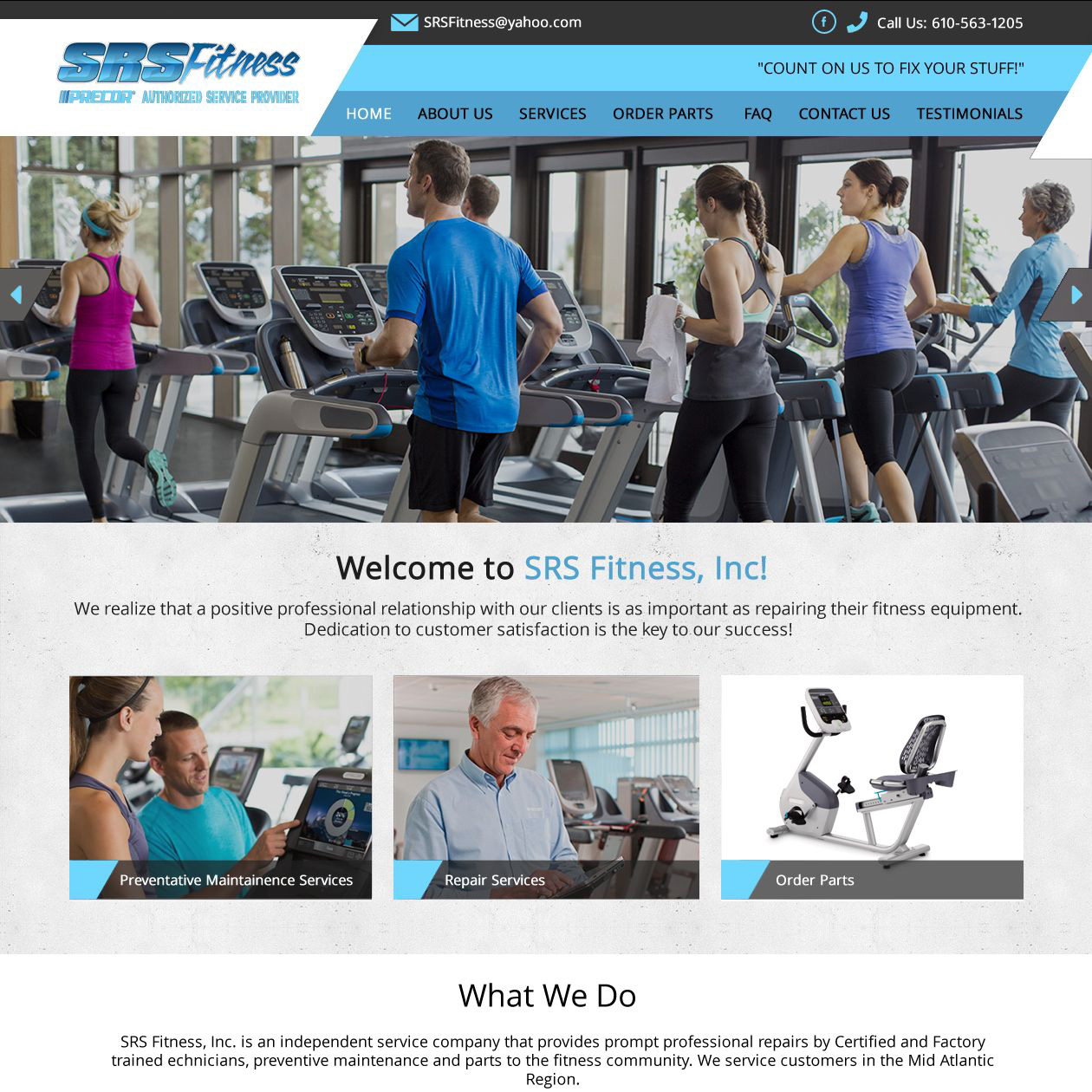 SRS Fitness - fitness equipment service & repair SRS Fitness
