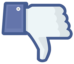 unlike Facebook page