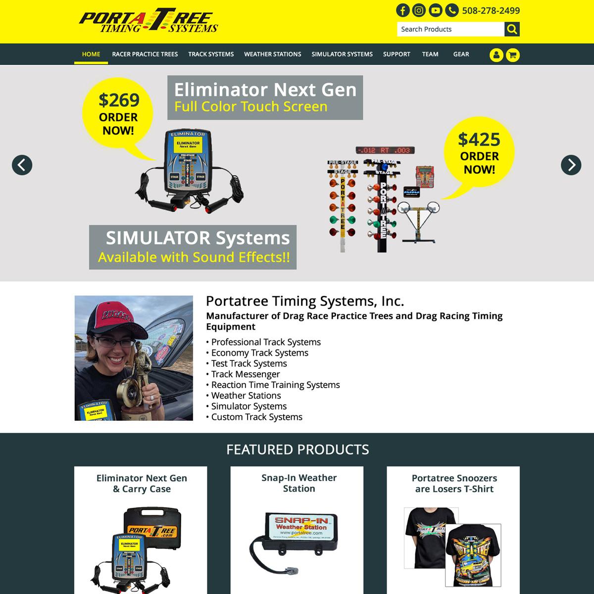 Drag Racing Practice Starting Line Equipment